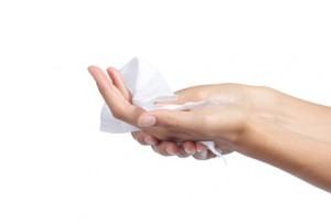 nadmierna potliwość rąk