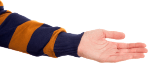 nadmierna potliwość dłoni